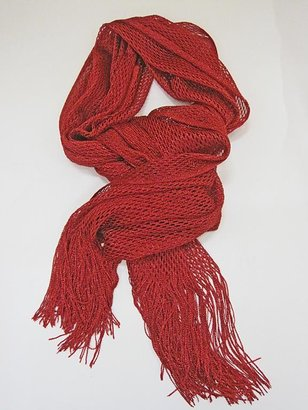Shimmer Scarf- Red - Accessories