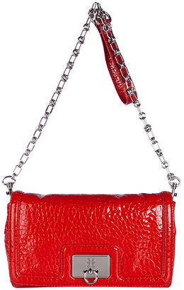 Givenchy Red Chain Detailing Clutch - Givenchy