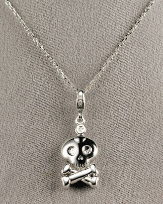 MIB Skull Pendant Necklace - Jewelry