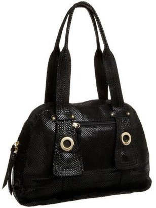 Latico Lizard Medium Bowler - Leather Shoulder Bag