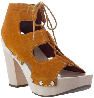 MARC BY MARC JACOBS - Suede clog-style platform shoes - Chic and Easy Clogs
