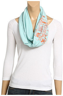 Juicy Couture Juicy Forever Infinity Embellished Scarf - Patterned Scarf