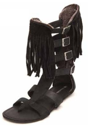 Koolaburra Aphrodite Fringe Sandal-PREORDER - Boutique to You