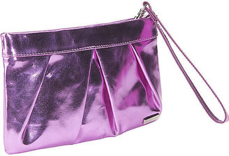 Bisadora Metallic Foil Clutch - Bisadora