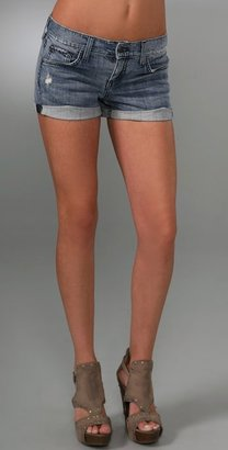 Juicy Couture Cuffed Jean Shorts - Juicy Couture