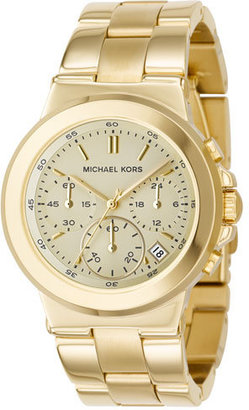Michael Kors Chronograph Watch, Shiny Gold - Must Have Michael Kors Watches