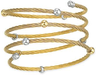 Charriol &#39;Nautical Cable&#39; Coil Bangle - Rihanna-Style Accessories
