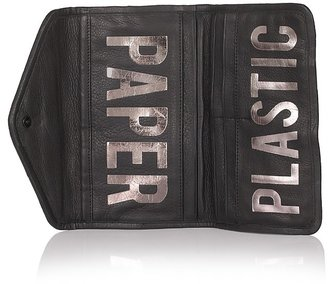 Rebecca Minkoff Paper/Plastic Leather Wallet - Rebecca Minkoff&#39;s Easy Style