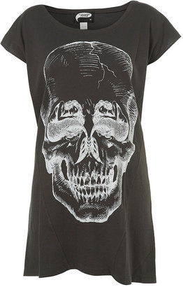 Mermaid Skull Long T-Shirt by Illustrated People** - Dress Like Hayley Williams