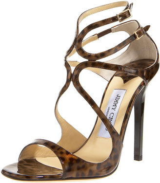 Jimmy Choo Leopard-Print Strappy Sandal - Jimmy Choo