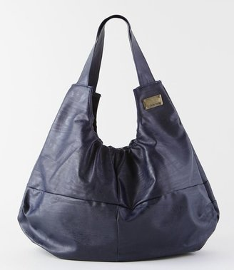 Black Cloud Pie Bag - Metallic Shoulder Bag