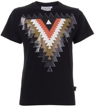 BEYOND THE VALLEY - Aztec printed t shirt - Clothes