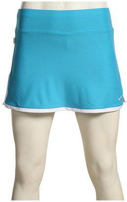 Nike - Border Tennis Skirt 2010 (Marina Blue/White/(White)) - Clothes