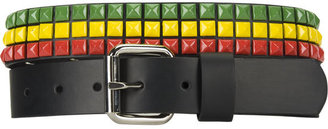 Studded Rasta Belt - Accessories