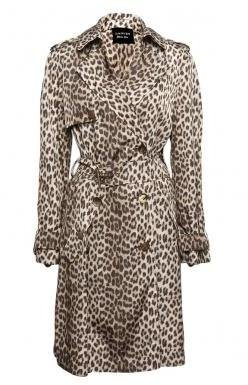 Lanvin Leopard Trench - Raincoat