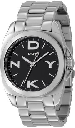 DKNY Stainless Steel Logo Watch - Menswear Style Watches