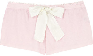 Juicy Couture Let's get Ready to Ruffle shorts - Silk Pajamas