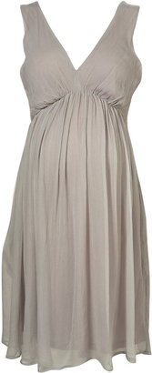 Maternity Chiffon Pleat Dress - Shop Tia Mowry's Romantic Maternity Look