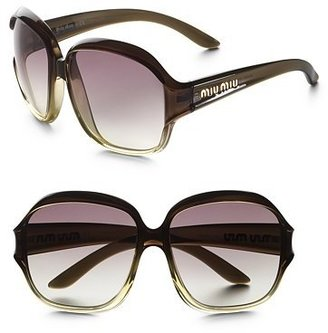 Miu Miu Fade Frame Sunglasses - Miu Miu