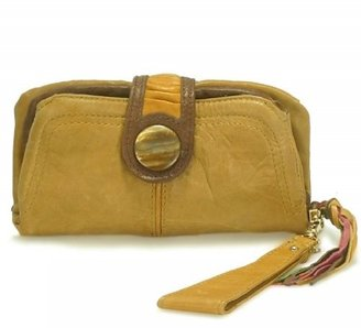 Junior Drake Fold Over Wristlet Wallet - Leather Wristlet