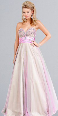Two-tone Ball Gowns by Jovani Beyond - Princess Dresses