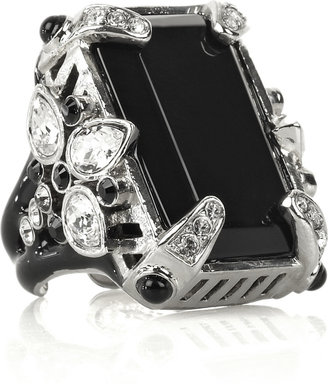 Roberto Cavalli Onyx cocktail ring - Dress Like Demi Lovato