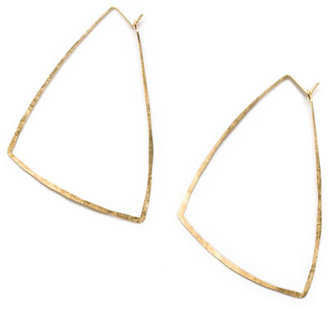 Kyler Trapeze Hoop Earrings - Rihanna-Style Accessories