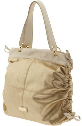 Melie Bianco Rouched Side Shoulder - Shoulder Bags