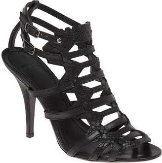 Givenchy Gladiator Sandal - Black - Gladiator Heels