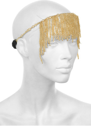 Maison Michel Sasha multi-strand pearl headpiece - Rihanna-Style Accessories