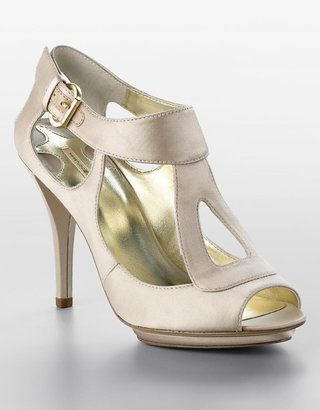 Xhosa Peep-Toe Satin Platform Stiletto Sandals - Lord &amp; Taylor