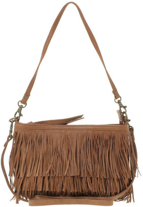 Oasis Leather Fringe Across Body - Shoulder Bags