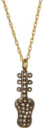 Gara Danielle Diamond Guitar Pendant - Jewelry