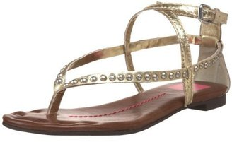 DV by Dolce Vita Women's Dane Thong Sandal - Shimmery Gold Sandals