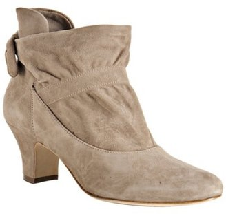 Boutique 9 taupe suede &#39;Linda&#39; ankle boots - Paperbag Booties