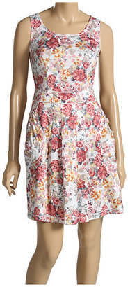 Moschino Floral Print Cotton Dress - Clothes