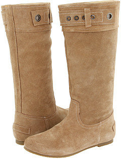 Gabriella Rocha - Chickadee Wide Calf (Tan Suede) - Tall Boots For Big Calves