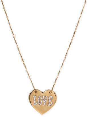 Juicy Couture 'Cirque de Couture  Love Letters' Heart Necklace - Heart Pendant