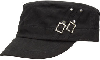 Stud Military Cap - Hats