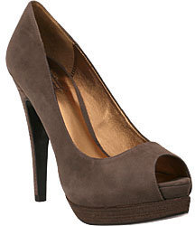Pelle Moda - Wrigley Granite Grey Suede - Heels