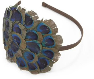 Natasha accessories feather-detail headband - Feather Hair Extensions