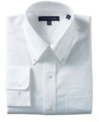 Tommy Hilfiger Dress Shirt, Classic Button Down - Dress Like Cristiano Ronaldo