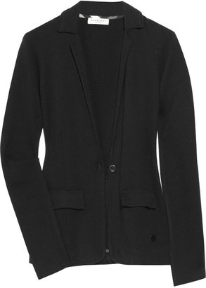 Burberry Cashmere-blend knitted blazer - Dress Like Jenny Humphrey