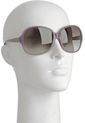 Prada purple plastic oversized sunglasses - Oversized Sunglasses