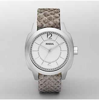 Black Faux Python - Oversized Watches for Women