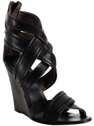 Joie caviar nappa &#39;My Boyfriend&#39;s Back&#39; wedges - Heels