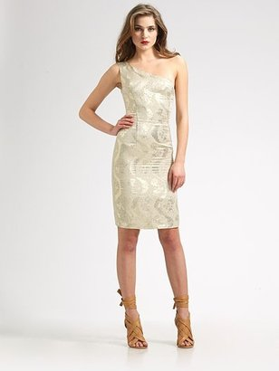Tory Burch Ardell Metallic Dress - Tory Burch