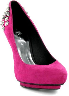 Rock And Republic Studded Heel Pump - - Studded Shoes