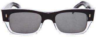 CUTLER AND GROSS - Two-tone wayfarer-style sunglasses - Sunglasses