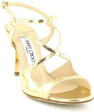 Jimmy Choo Metallic Sandal - Evening Sandals